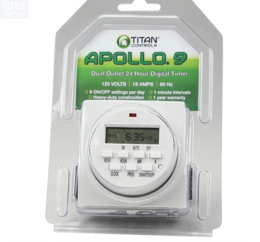 Titan Controls Apollo 9 - Dual Digital Timer