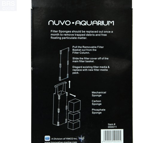 Nuvo Aquarium Filter Media for Pico & Nano Tanks