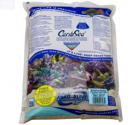 Bahamas Oolite Arag-Alive! Live Reef Sand