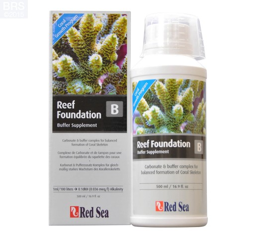 500 mL of Red Sea Reef Foundation B