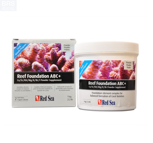 Red Sea Reef Foundation ABC+ 1 kg Powder