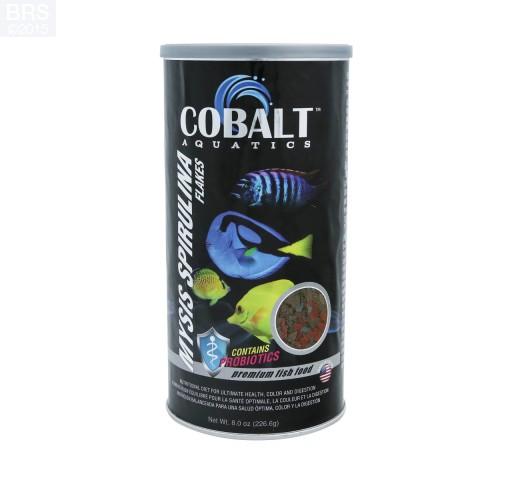 Cobalt Aquatics Mysis Spirulina Flakes Fish Food