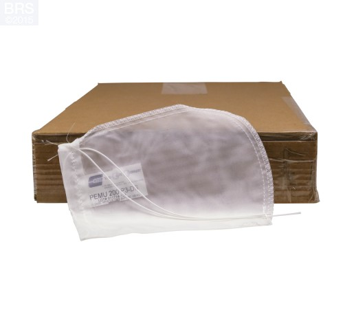 "Case (100) 4"" x 8"" BRS Mesh Filter Sock with Draw String"