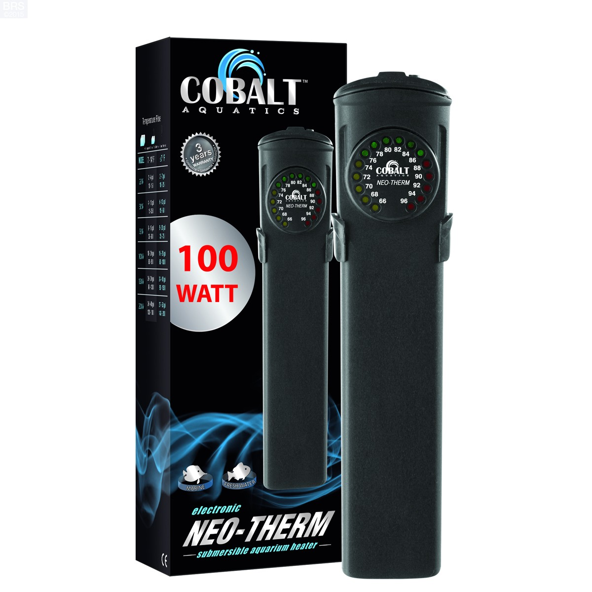 Cobalt Aquatics Neo Therm Submersible Heater Bulk Reef Supply #C20909
