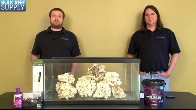 Curing Live Rock for Saltwater