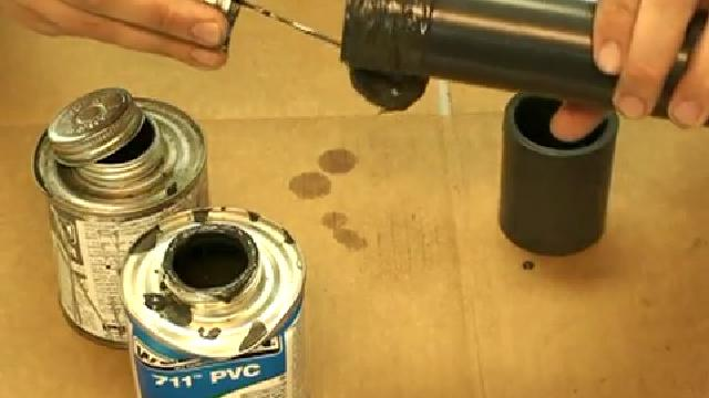 How to Glue PVC Pipe and Fittings