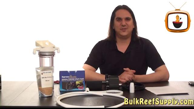 How to set up a BRS biopellet reactor