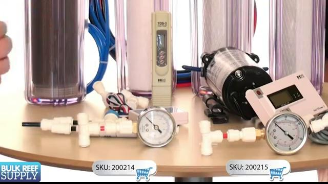 RO Upgrades-Pressure Gauges, Meters, and Flush Kits
